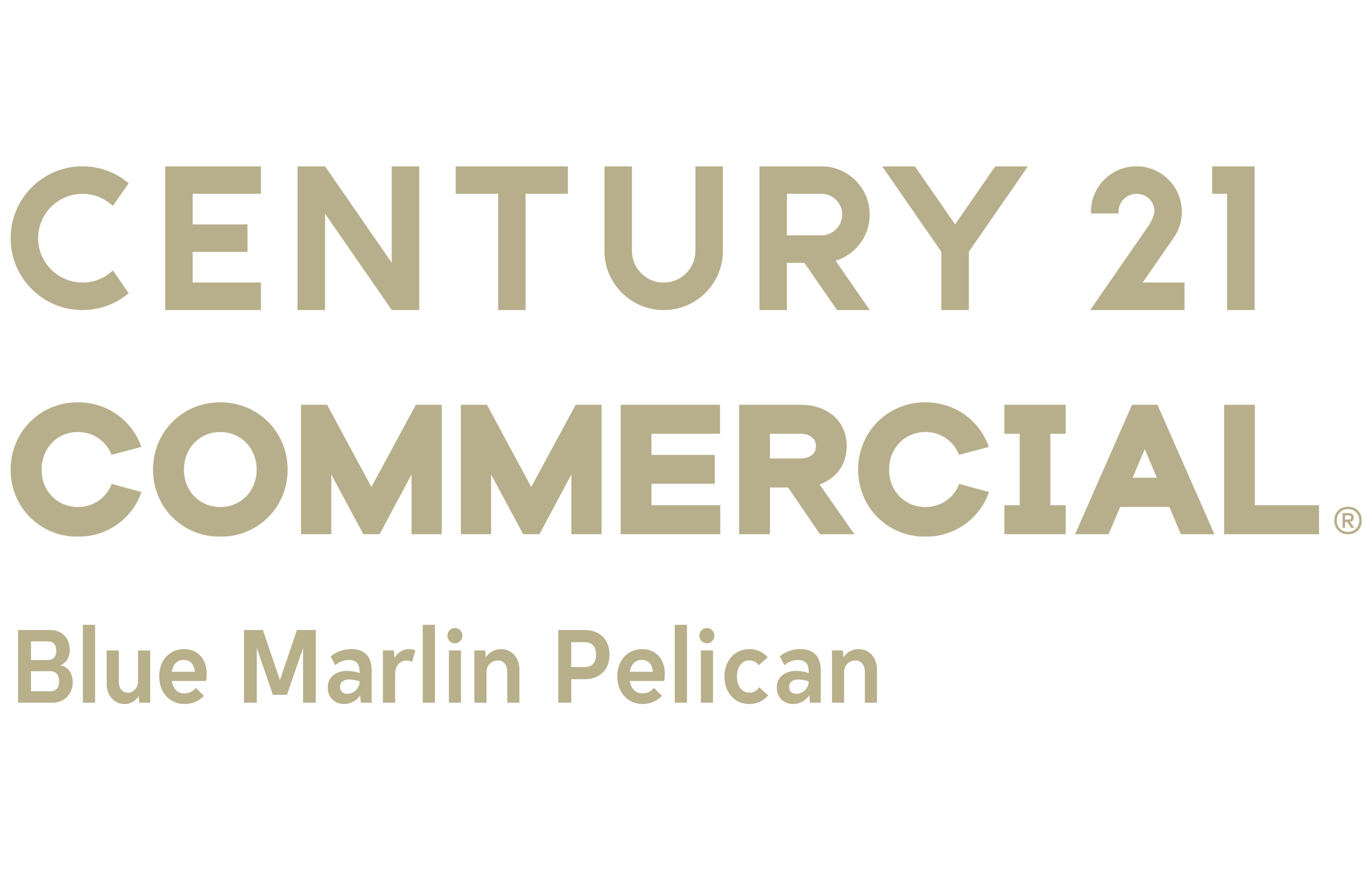 Jerry Sullivan of CENTURY 21 Blue Marlin Pelican logo