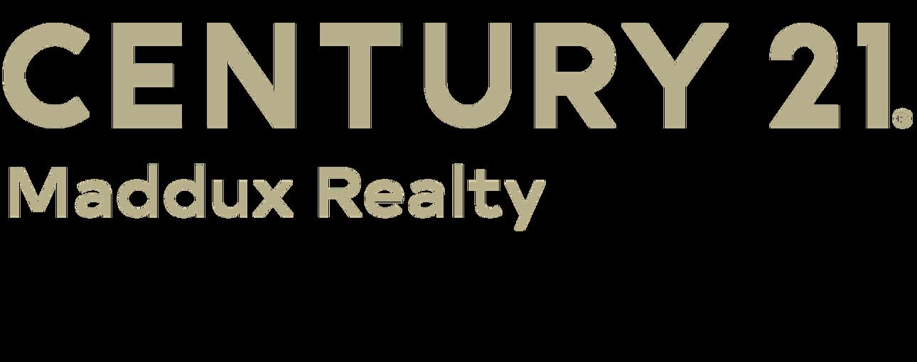 Patricia Maddux of CENTURY 21 Maddux Realty logo