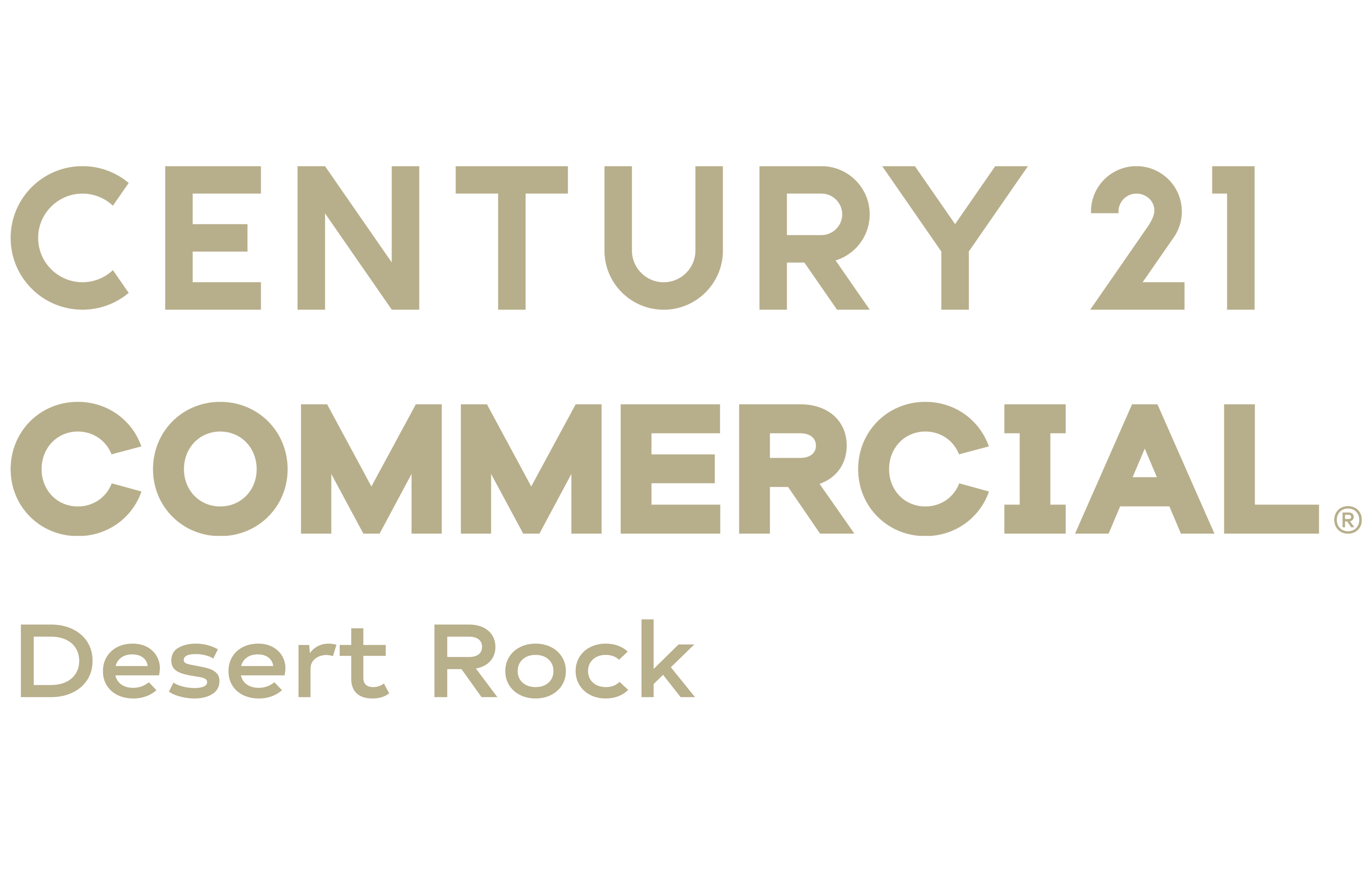 Lynda Thomasson of CENTURY 21 Desert Rock logo
