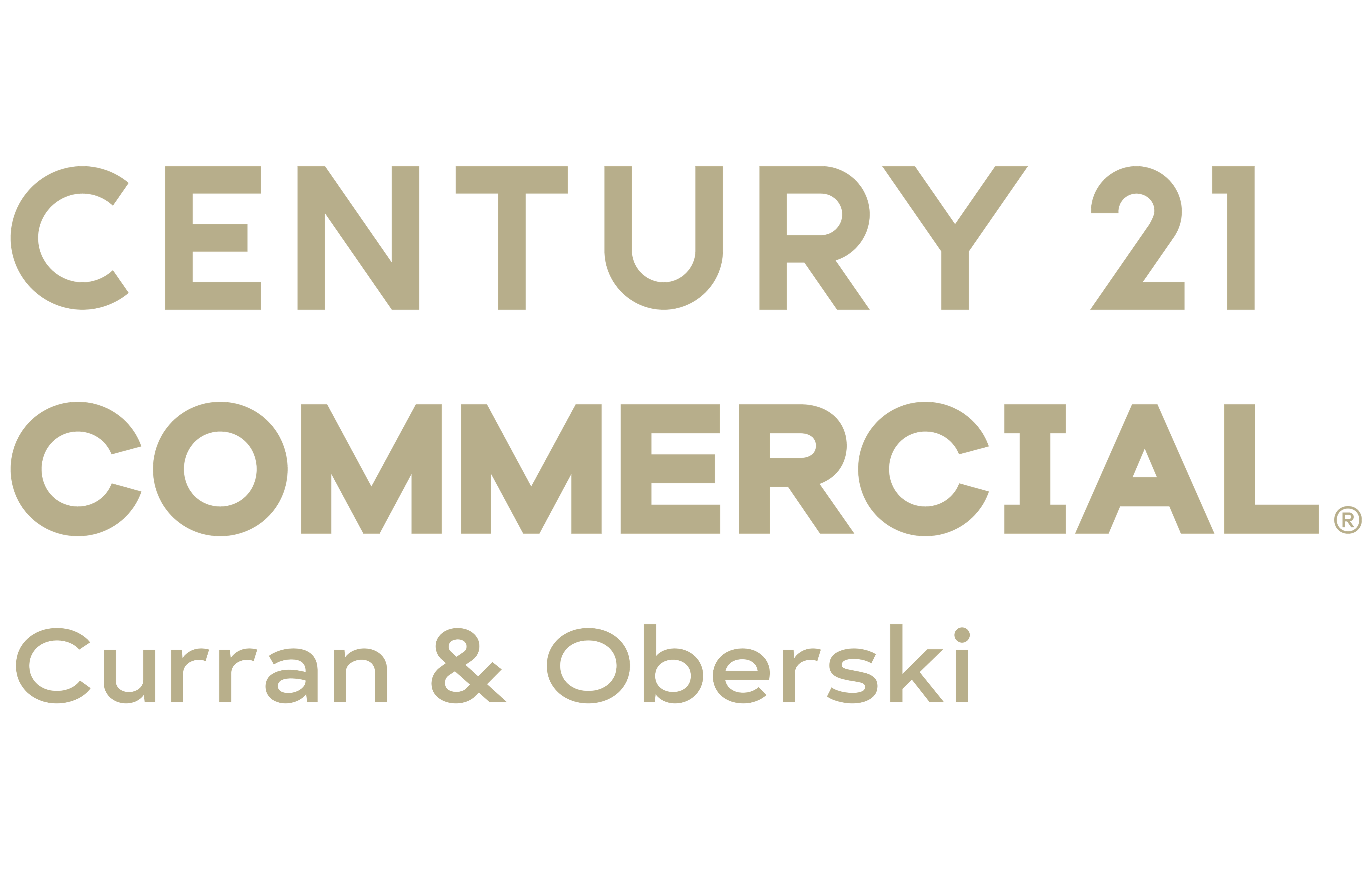 Randolph Bloedow of CENTURY 21 Curran & Oberski logo