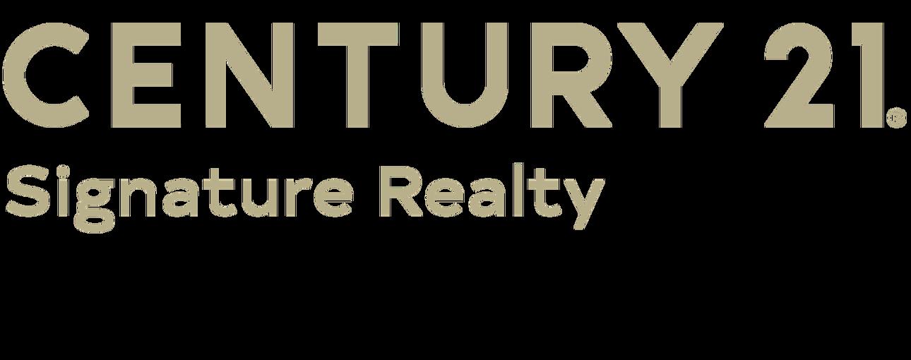 Michelle Pfeiffer of CENTURY 21 Signature Realty logo