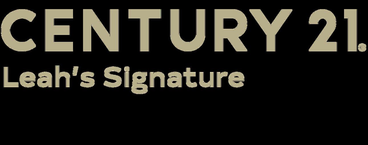 Tammy Keding of CENTURY 21 Leah's Signature logo