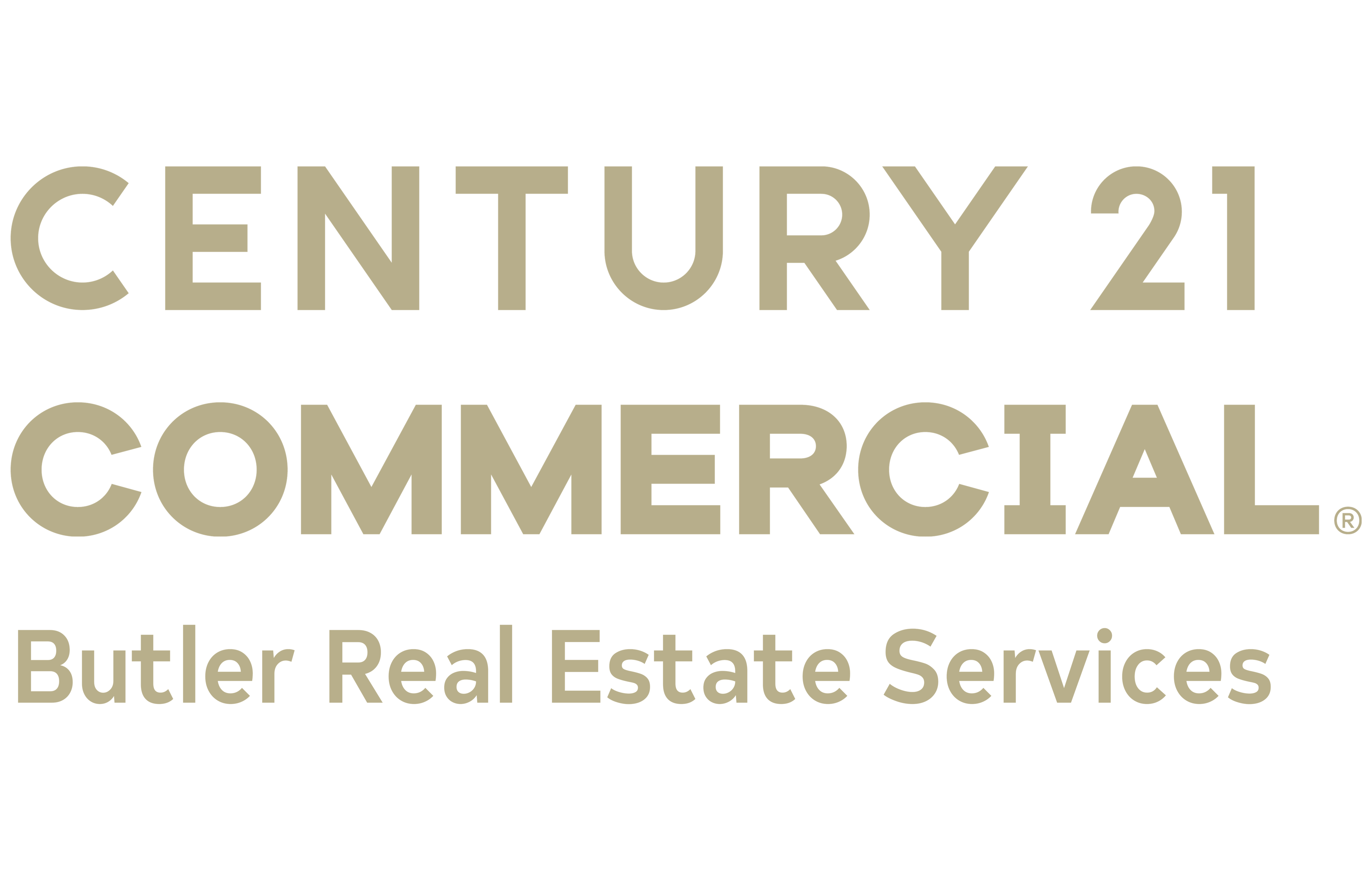 Justin Riley of CENTURY 21 Butler Real Estate Services logo
