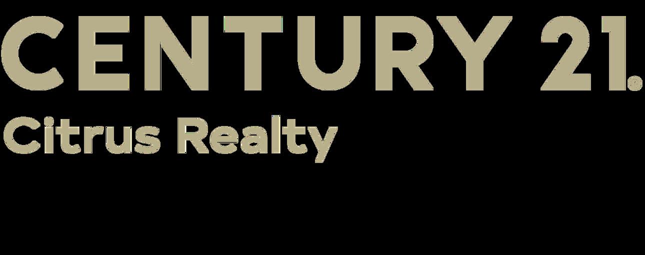 Irma Ortega of CENTURY 21 Citrus Realty logo