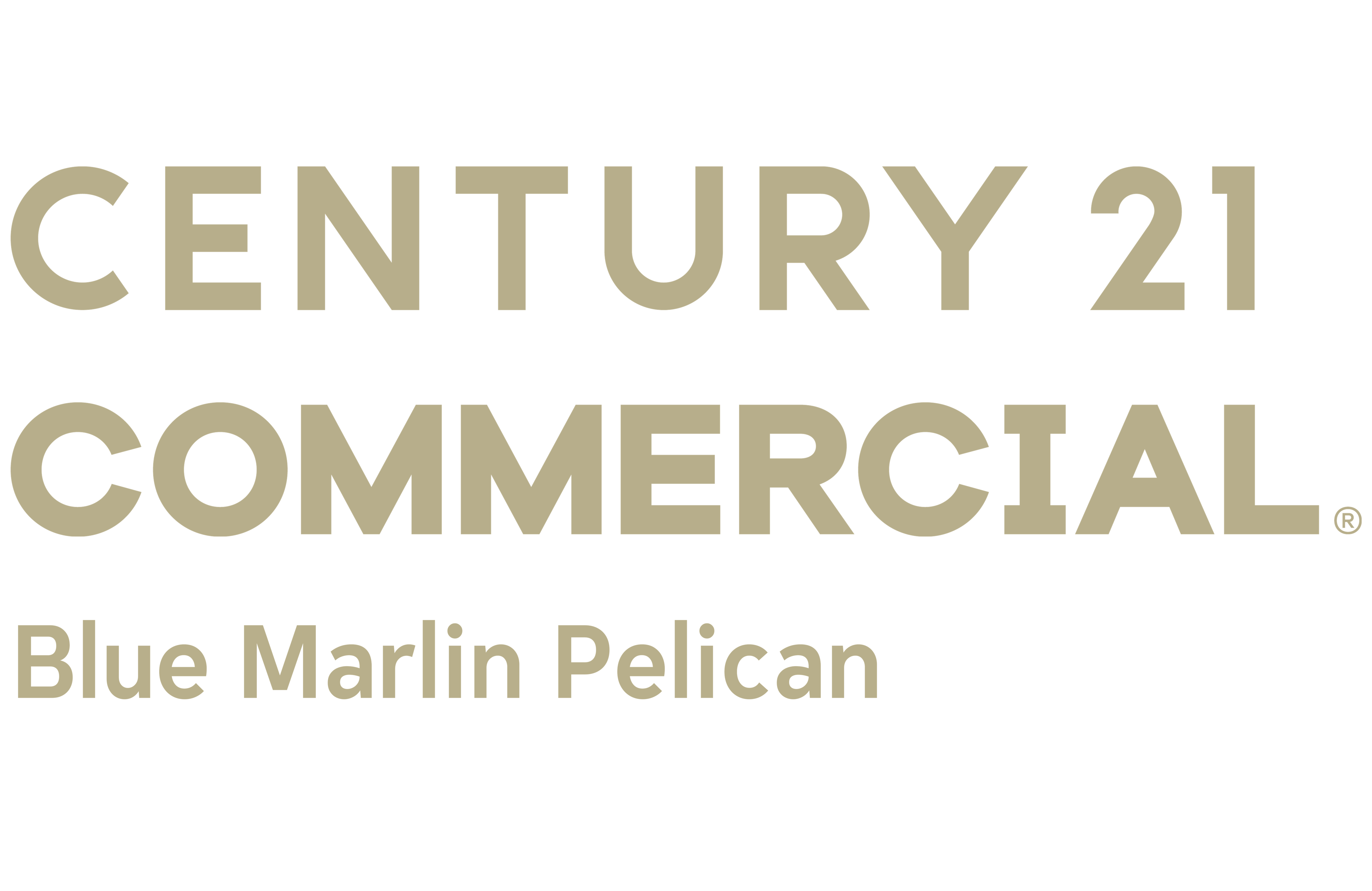 Jim Ball of CENTURY 21 Blue Marlin Pelican logo